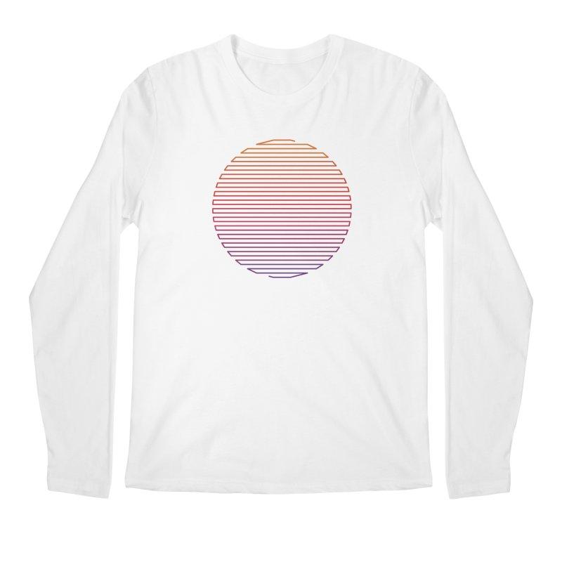Linear Light Men's Regular Longsleeve T-Shirt by thepapercrane's shop