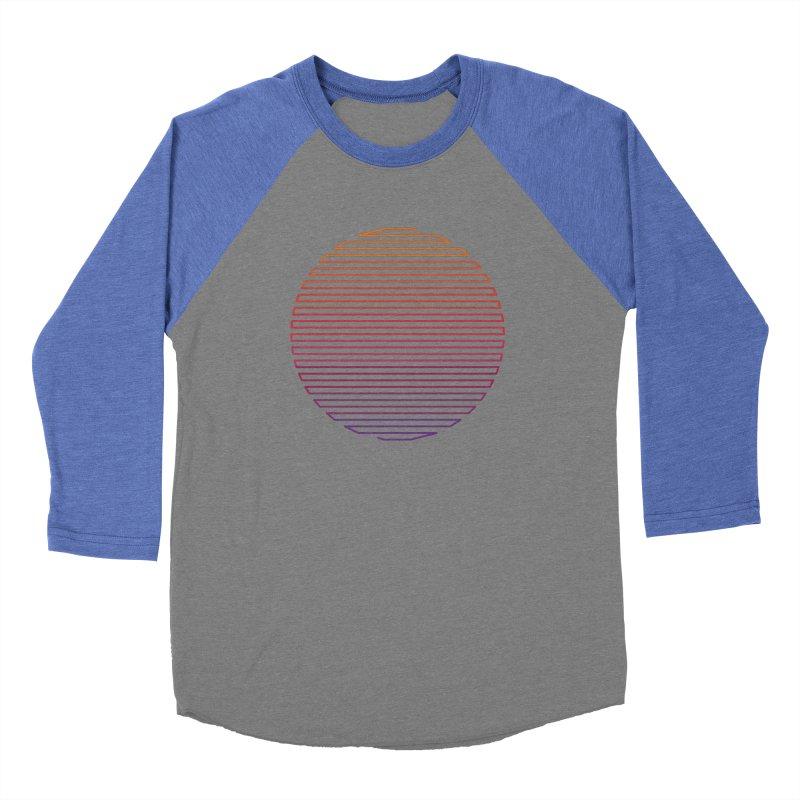 Linear Light Men's Baseball Triblend T-Shirt by thepapercrane's shop