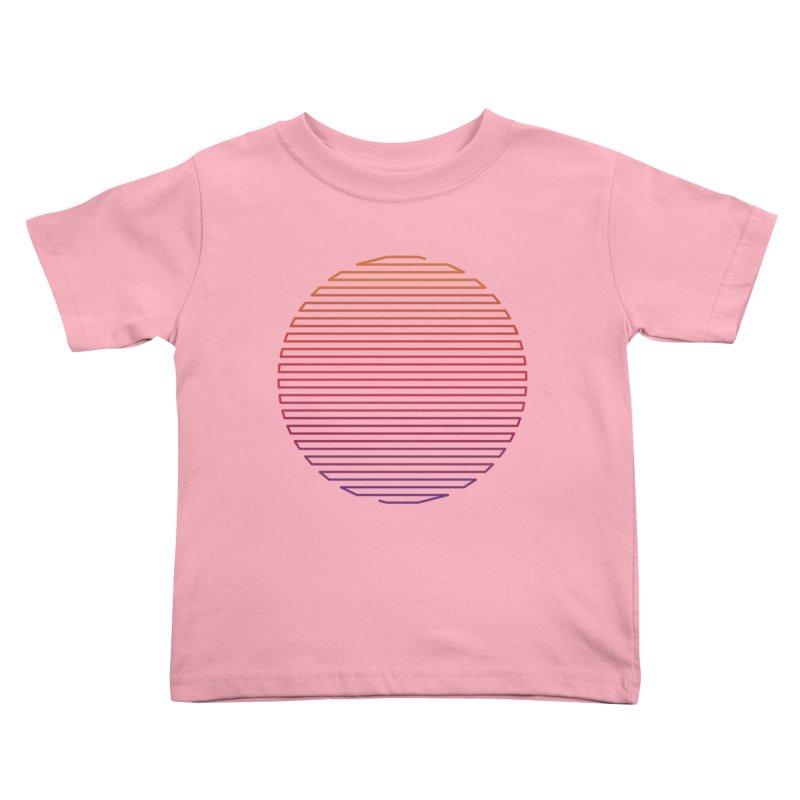 Linear Light Kids Toddler T-Shirt by thepapercrane's shop