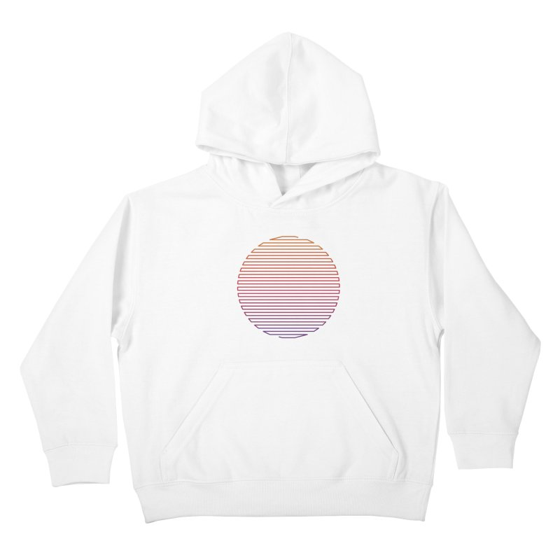 Linear Light Kids Pullover Hoody by thepapercrane's shop