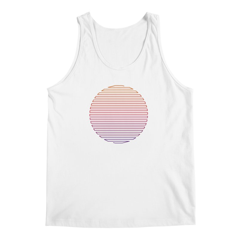 Linear Light Men's Regular Tank by thepapercrane's shop