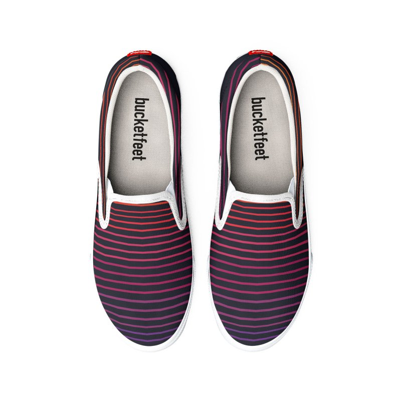 Linear Light Men's Shoes by thepapercrane's shop