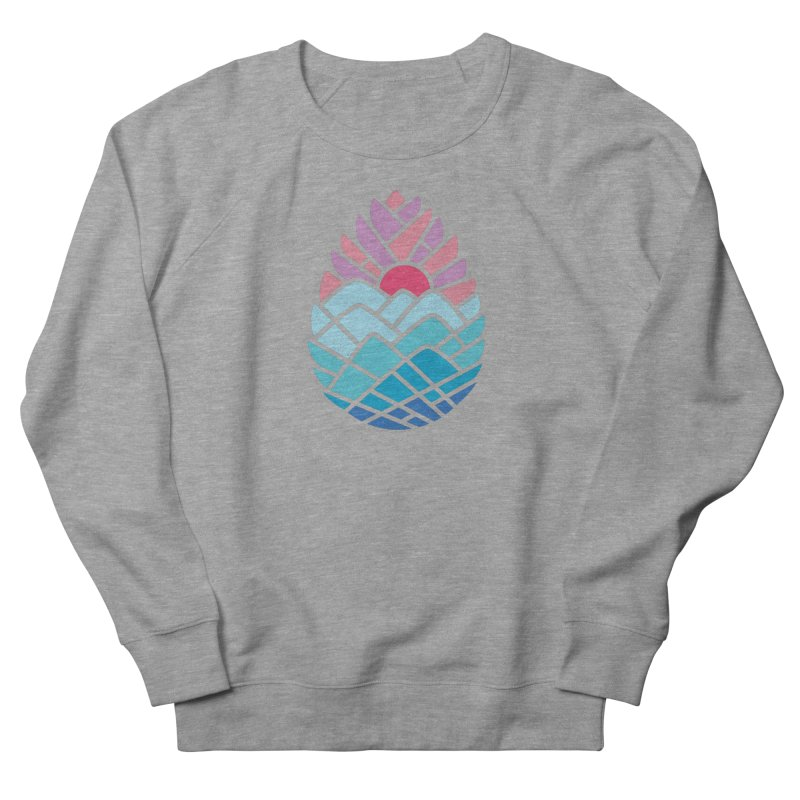Alpine Women's French Terry Sweatshirt by thepapercrane's shop