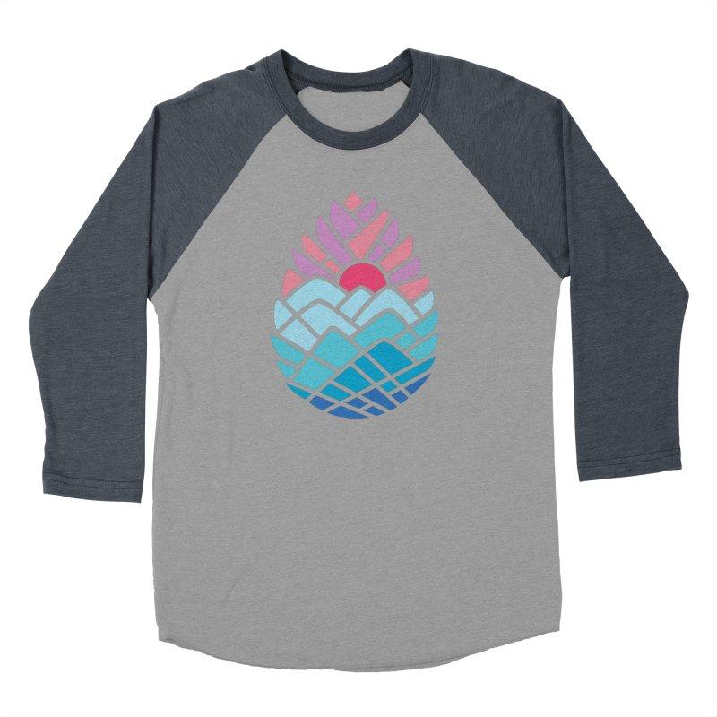 Alpine Men's Baseball Triblend T-Shirt by thepapercrane's shop