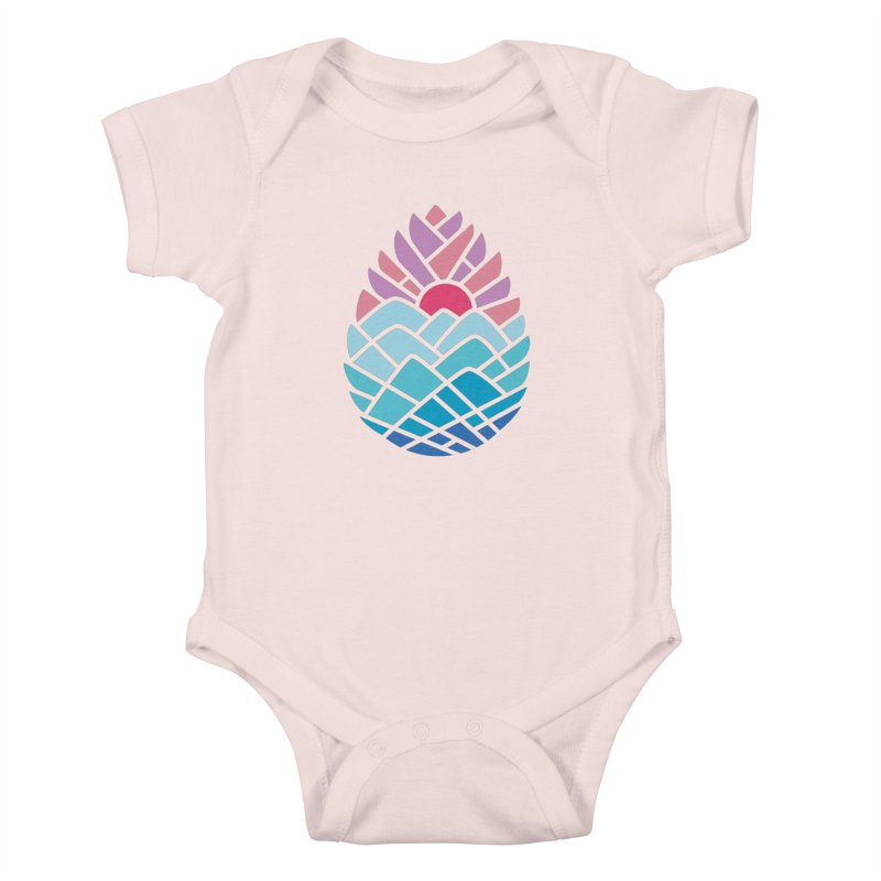 Alpine Kids Baby Bodysuit by thepapercrane's shop