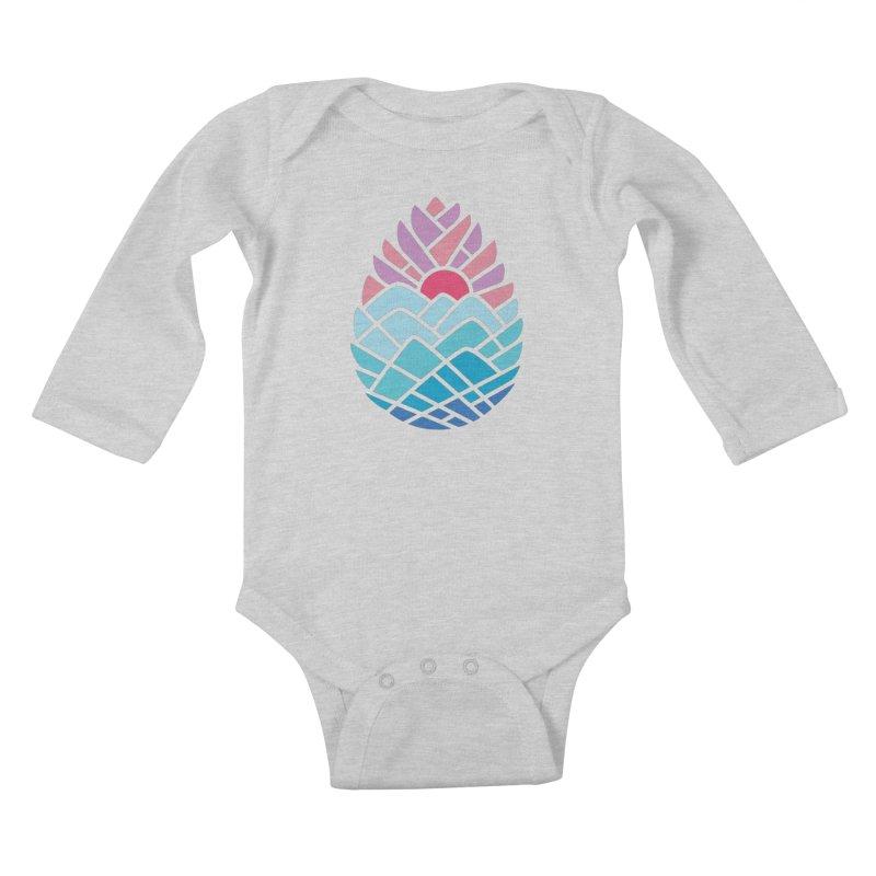 Alpine Kids Baby Longsleeve Bodysuit by thepapercrane's shop