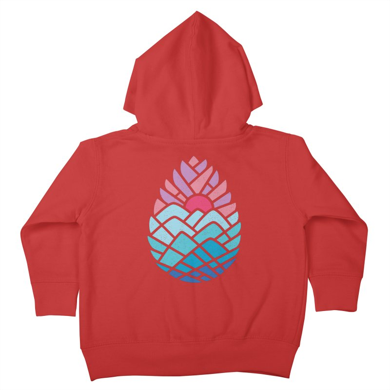Alpine Kids Toddler Zip-Up Hoody by thepapercrane's shop