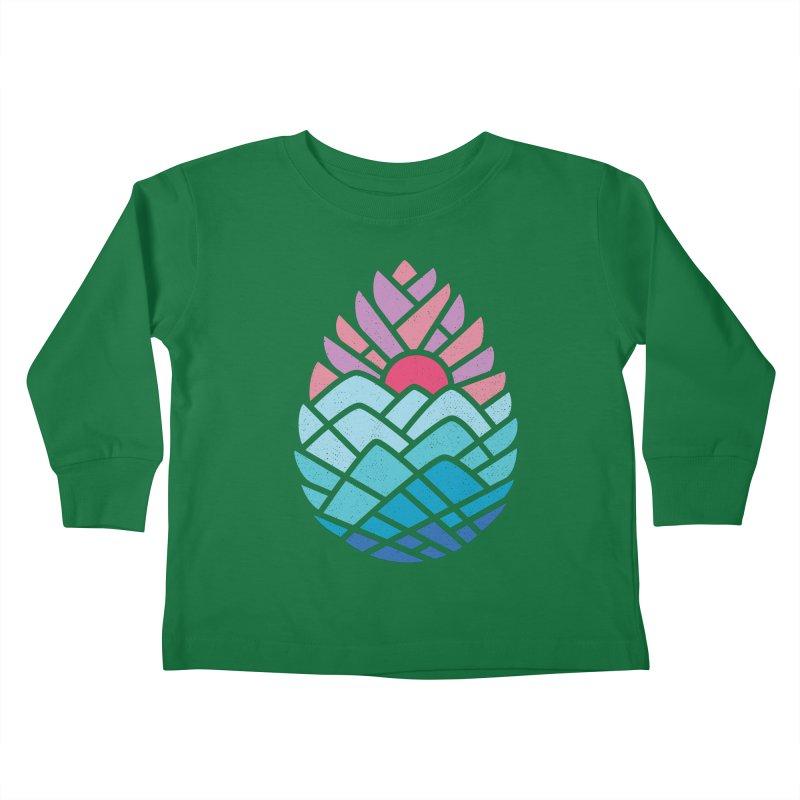 Alpine Kids Toddler Longsleeve T-Shirt by thepapercrane's shop