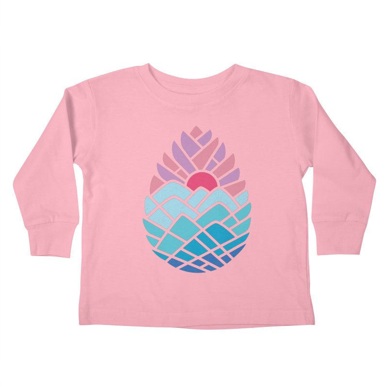 Alpine Kids Toddler Longsleeve T-Shirt by thepapercrane's shop