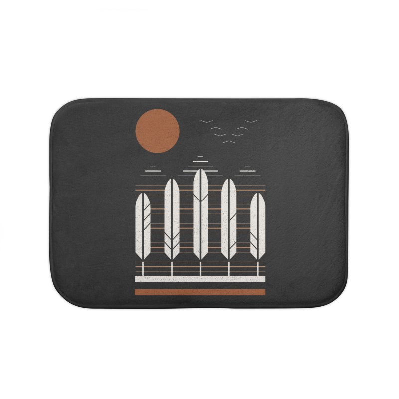 Snow Geese Home Bath Mat by thepapercrane's shop