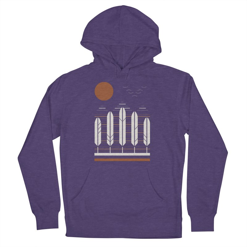 Snow Geese Women's French Terry Pullover Hoody by thepapercrane's shop