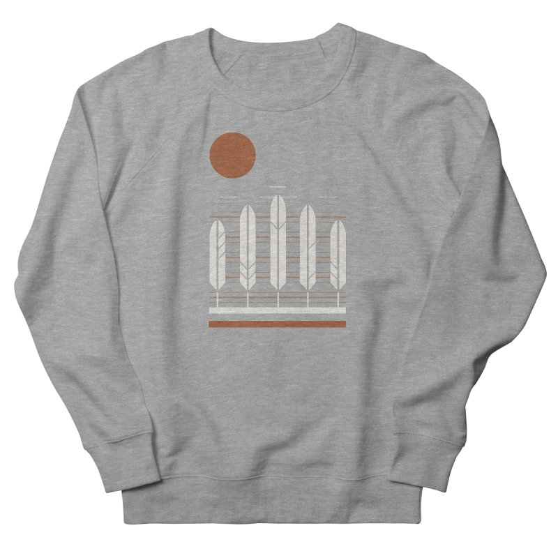 Snow Geese Men's French Terry Sweatshirt by thepapercrane's shop