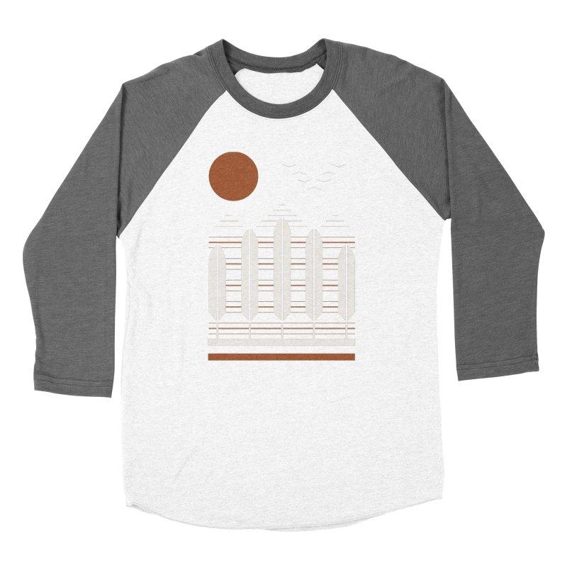 Snow Geese Women's Baseball Triblend Longsleeve T-Shirt by thepapercrane's shop