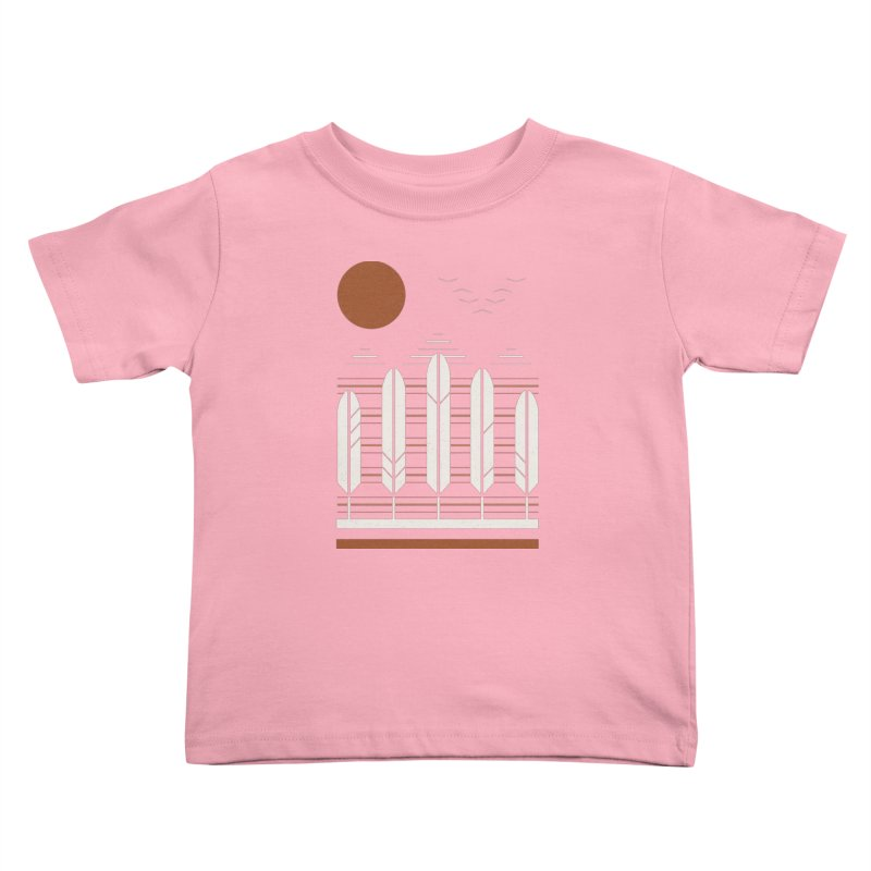 Snow Geese Kids Toddler T-Shirt by thepapercrane's shop