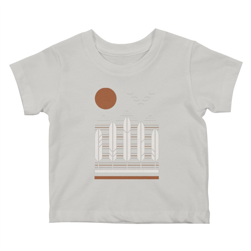 Snow Geese Kids Baby T-Shirt by thepapercrane's shop