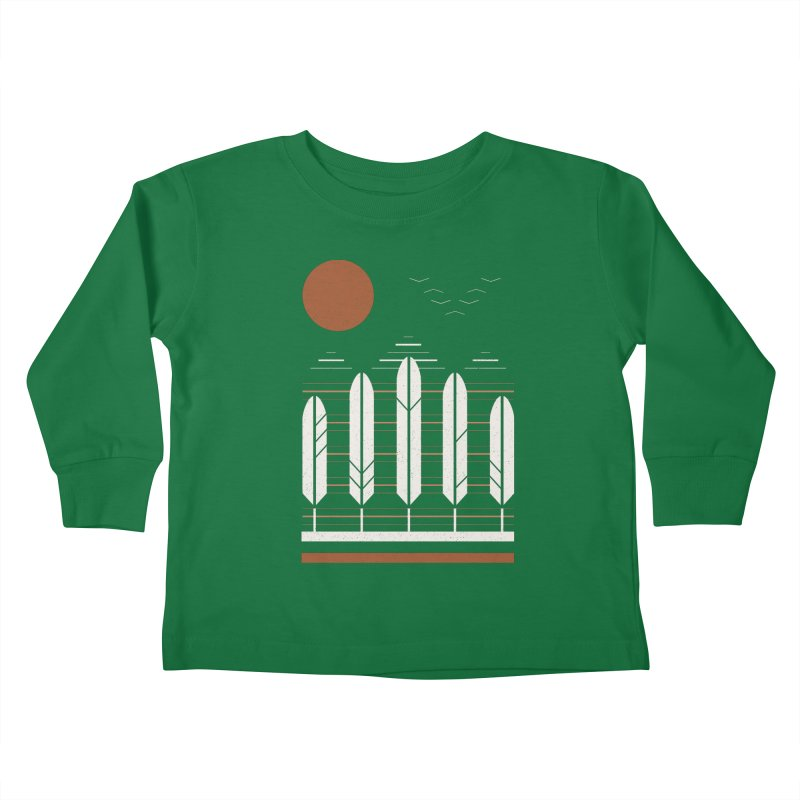 Snow Geese Kids Toddler Longsleeve T-Shirt by thepapercrane's shop