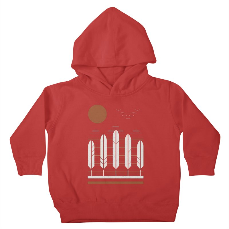 Snow Geese Kids Toddler Pullover Hoody by thepapercrane's shop