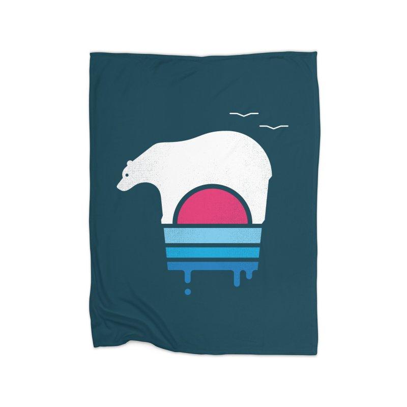 Polar Melt Home Blanket by thepapercrane's shop