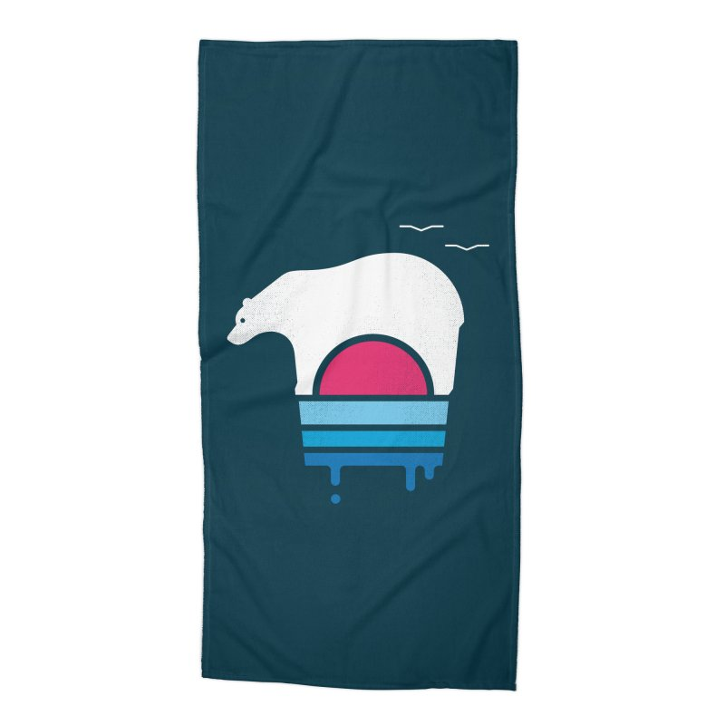 Polar Melt Accessories Beach Towel by thepapercrane's shop