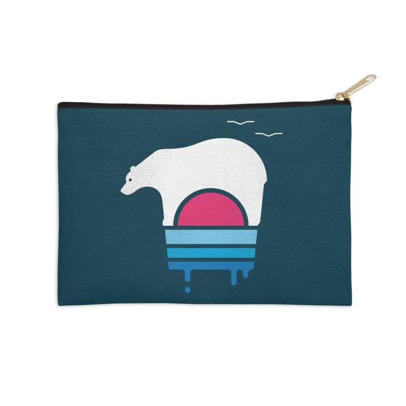 Polar Melt Accessories Zip Pouch by thepapercrane's shop