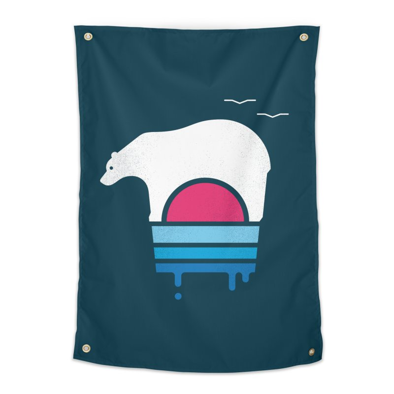 Polar Melt Home Tapestry by thepapercrane's shop