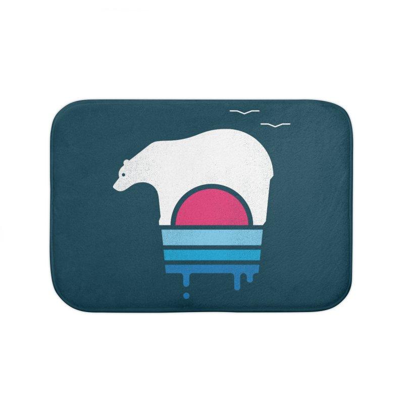 Polar Melt Home Bath Mat by thepapercrane's shop