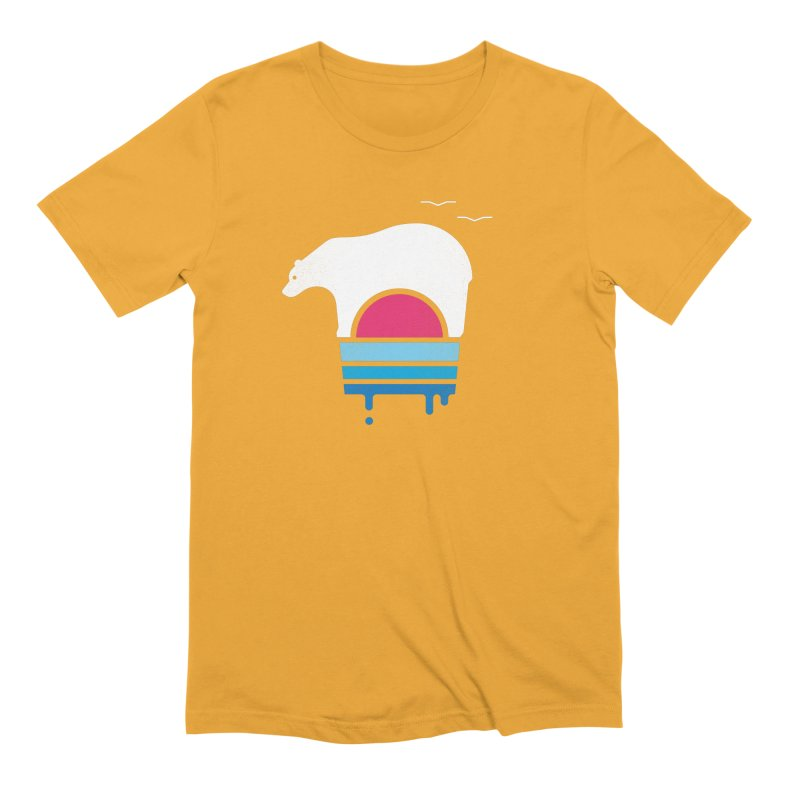 Polar Melt Men's Extra Soft T-Shirt by thepapercrane's shop