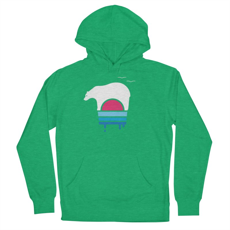 Polar Melt Women's French Terry Pullover Hoody by thepapercrane's shop