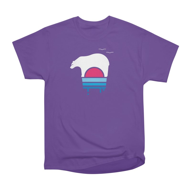 Polar Melt Women's Heavyweight Unisex T-Shirt by thepapercrane's shop