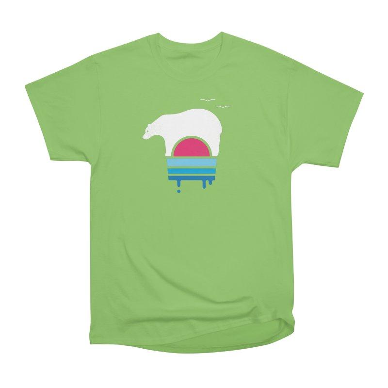 Polar Melt Men's Heavyweight T-Shirt by thepapercrane's shop