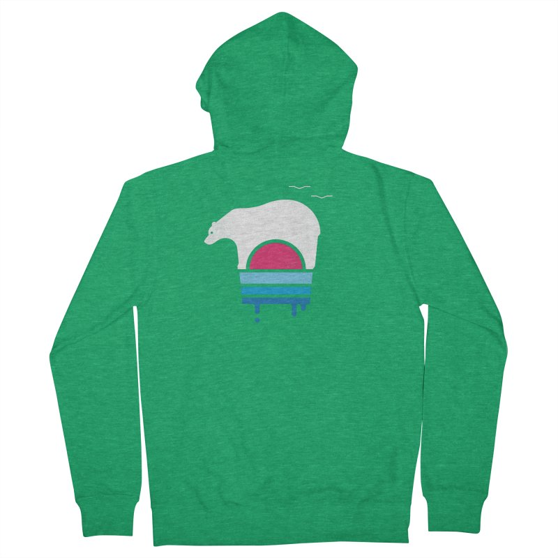 Polar Melt Men's Zip-Up Hoody by thepapercrane's shop