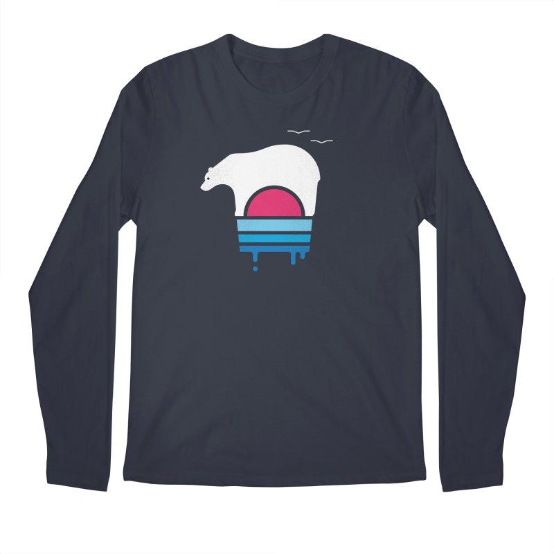Polar Melt Men's Regular Longsleeve T-Shirt by thepapercrane's shop