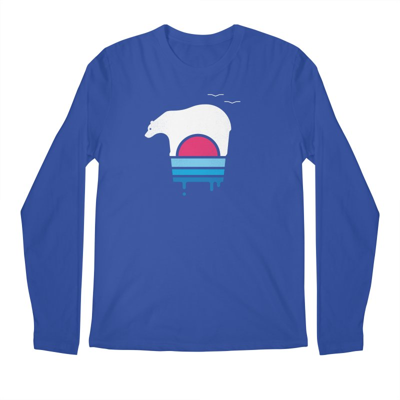 Polar Melt Men's Regular Longsleeve T-Shirt by thepapercrane's shop