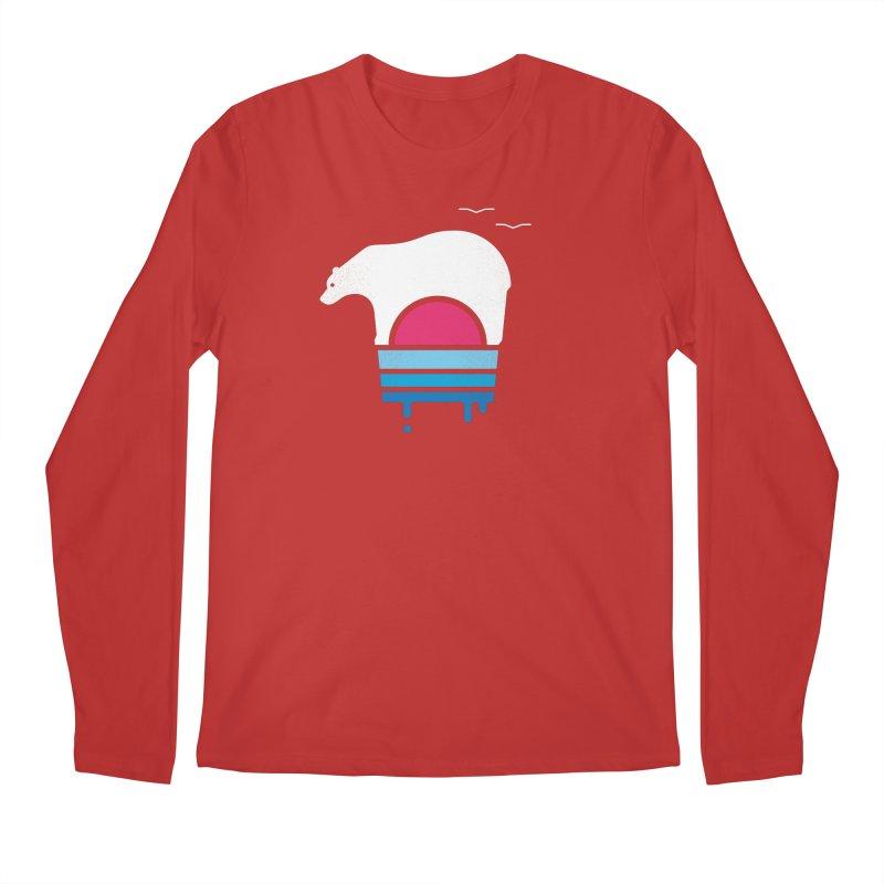Polar Melt Men's Longsleeve T-Shirt by thepapercrane's shop