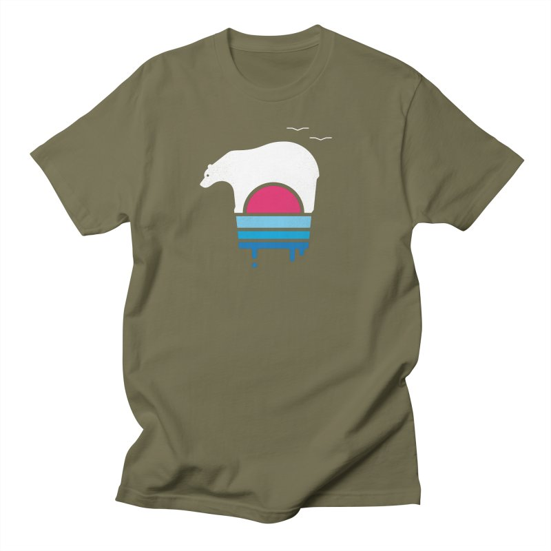 Polar Melt Men's T-Shirt by thepapercrane's shop