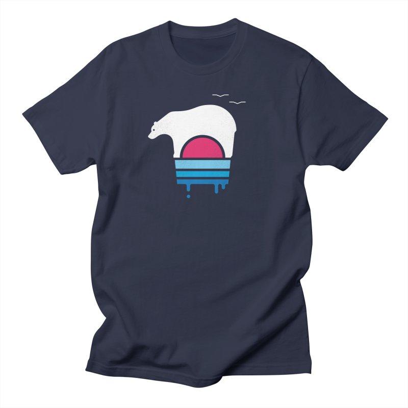 Polar Melt Men's Regular T-Shirt by thepapercrane's shop