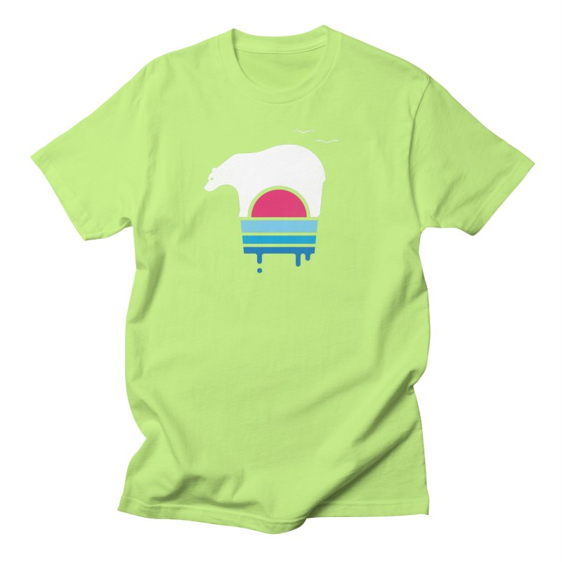 Polar Melt Women's Regular Unisex T-Shirt by thepapercrane's shop
