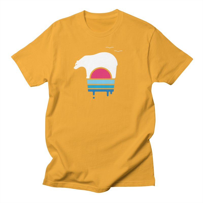 Polar Melt Men's Regular T-Shirt by thepapercrane's shop
