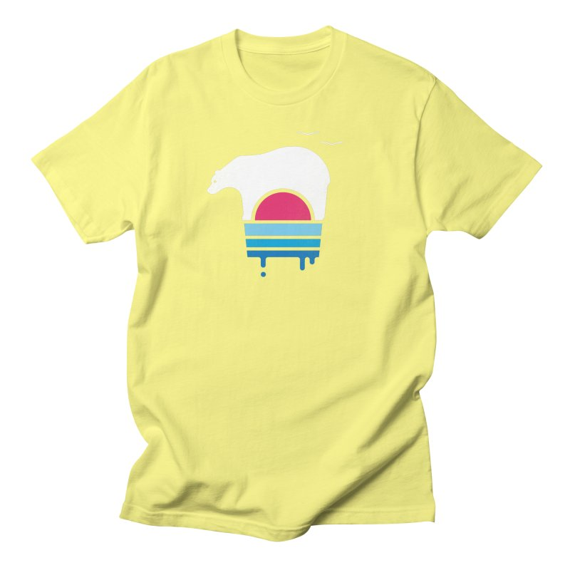 Polar Melt Women's Unisex T-Shirt by thepapercrane's shop