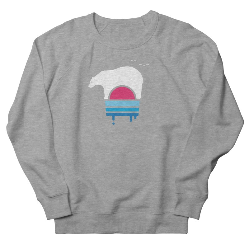 Polar Melt Women's French Terry Sweatshirt by thepapercrane's shop