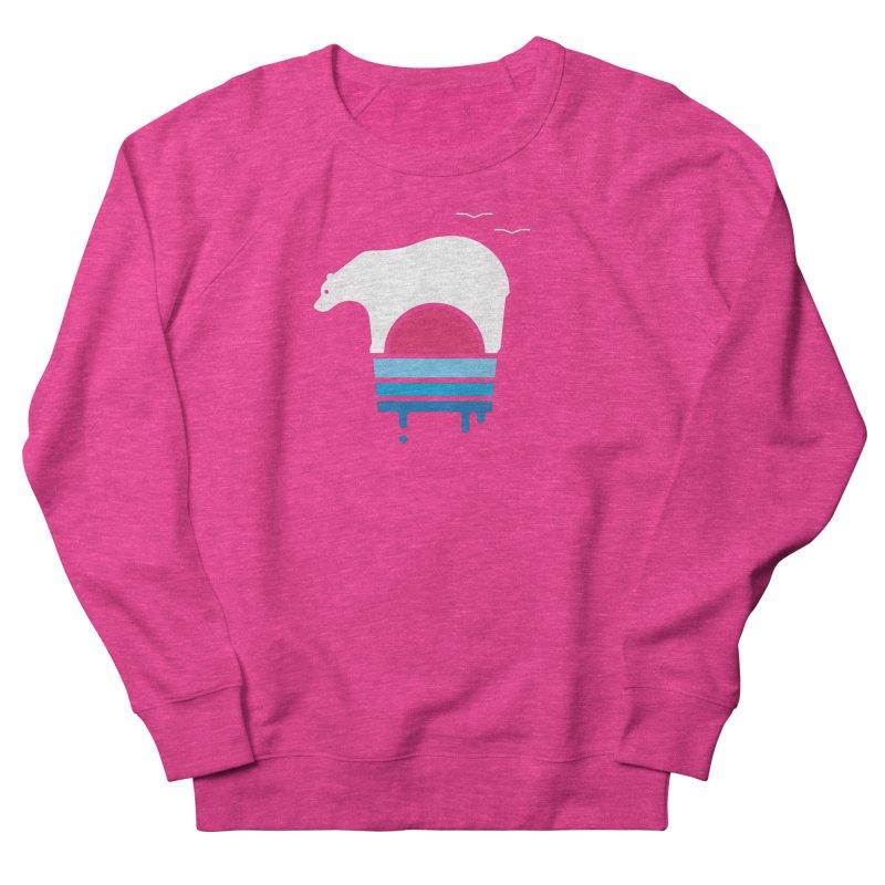 Polar Melt Women's French Terry Sweatshirt by thepapercrane's shop