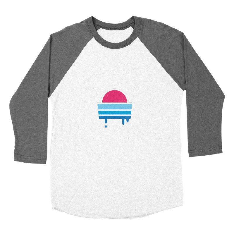 Polar Melt Women's Baseball Triblend Longsleeve T-Shirt by thepapercrane's shop