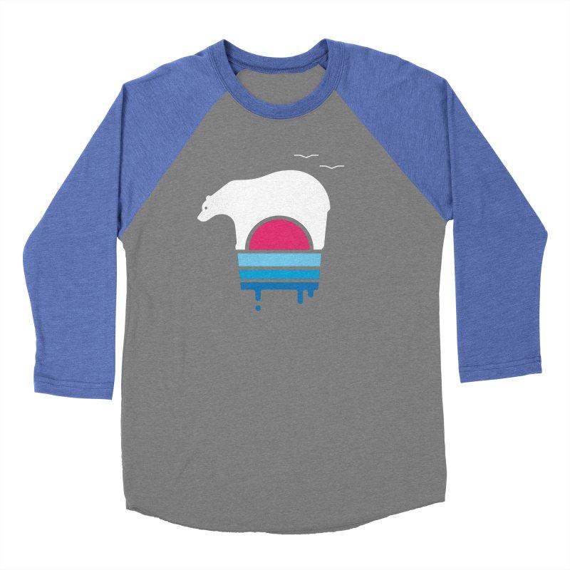 Polar Melt Women's Baseball Triblend T-Shirt by thepapercrane's shop