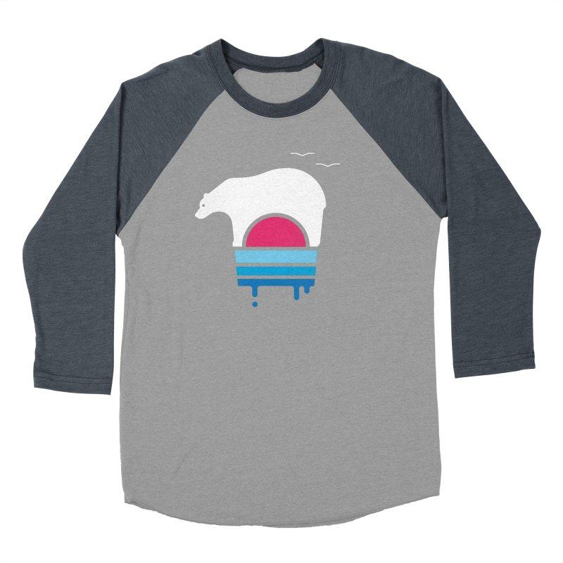 Polar Melt Men's Baseball Triblend T-Shirt by thepapercrane's shop