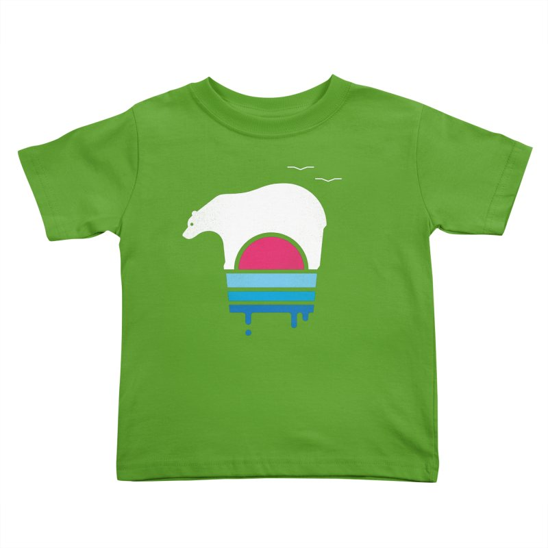 Polar Melt Kids Toddler T-Shirt by thepapercrane's shop