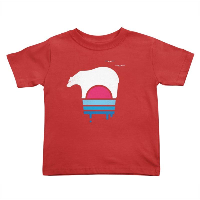 Polar Melt Kids Toddler T-Shirt by thepapercrane's shop