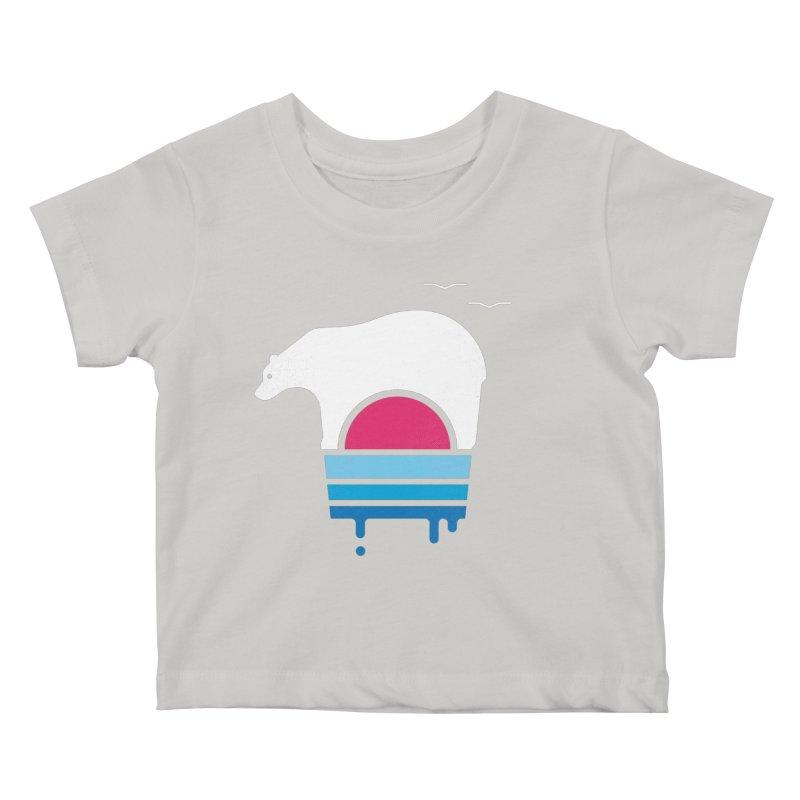 Polar Melt Kids Baby T-Shirt by thepapercrane's shop