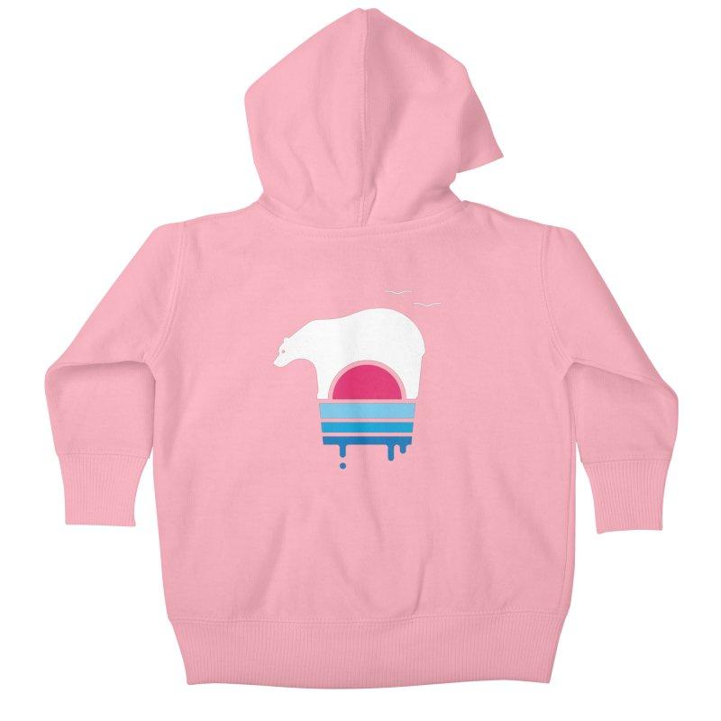 Polar Melt Kids Baby Zip-Up Hoody by thepapercrane's shop