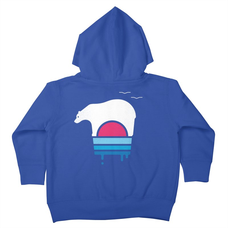 Polar Melt Kids Toddler Zip-Up Hoody by thepapercrane's shop