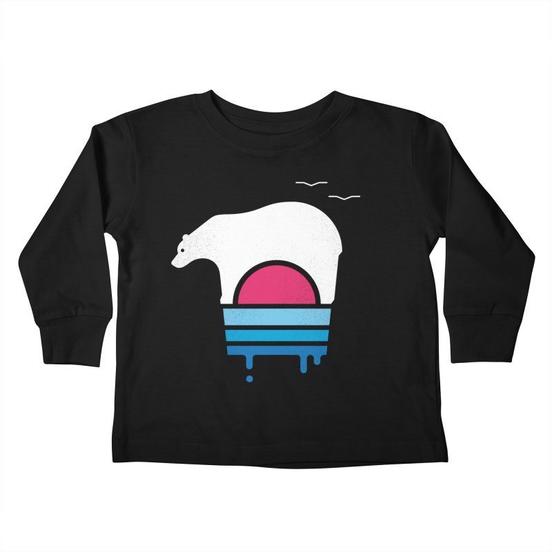 Polar Melt Kids Toddler Longsleeve T-Shirt by thepapercrane's shop